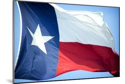 Texas Flag-John Gusky-Mounted Photographic Print