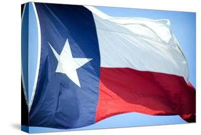 Texas Flag-John Gusky-Stretched Canvas Print
