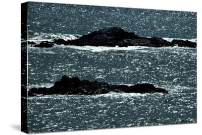 Tiny Islands-John Gusky-Stretched Canvas Print