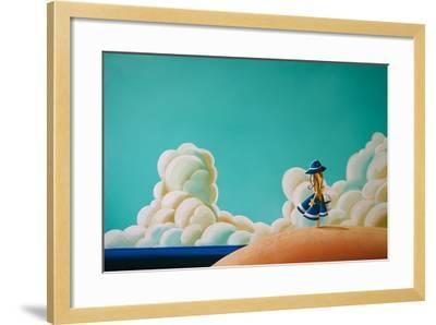 Wishes By The Sea-Cindy Thornton-Framed Art Print