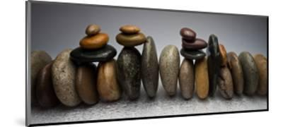 Stacked River Stones-Steve Gadomski-Mounted Premium Photographic Print
