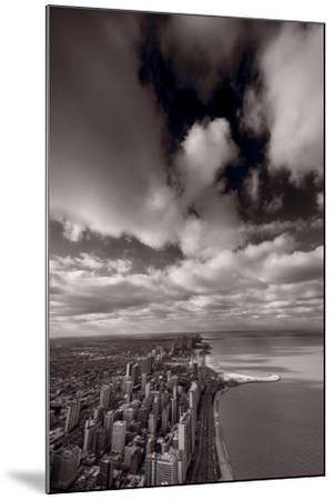 Chicago Aloft BW-Steve Gadomski-Mounted Photographic Print