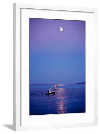 Ocean Moonrise-Steve Gadomski-Framed Photographic Print