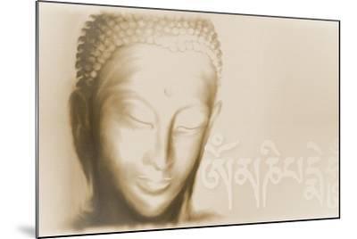 Buddha- Om mani padme hum-Christine Ganz-Mounted Art Print