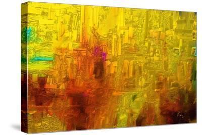 Visual 2-Rabi Khan-Stretched Canvas Print