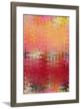 Dew and Waves-Ricki Mountain-Framed Art Print