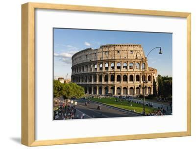 Colosseum Rome-Charles Bowman-Framed Photographic Print