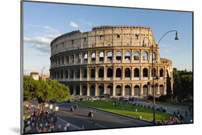 Colosseum Rome-Charles Bowman-Mounted Photographic Print