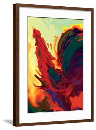 The Cock 2-Rabi Khan-Framed Art Print