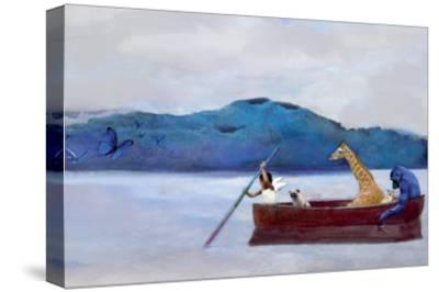 Animal Canoe-Nancy Tillman-Stretched Canvas Print