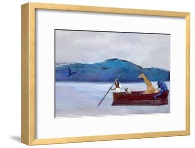 Animal Canoe-Nancy Tillman-Framed Premium Giclee Print