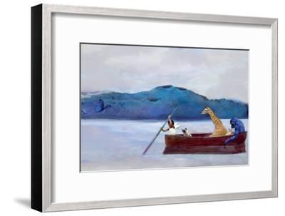 Animal Canoe-Nancy Tillman-Framed Art Print