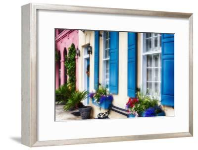 Charleston Colors IV-George Oze-Framed Photographic Print