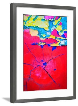 Paint Peeling-Charles Bowman-Framed Photographic Print