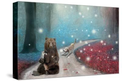 Fireflies In Heaven-Nancy Tillman-Stretched Canvas Print