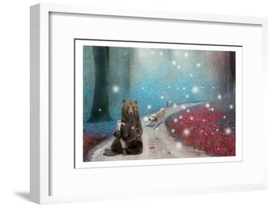 Fireflies In Heaven-Nancy Tillman-Framed Premium Giclee Print