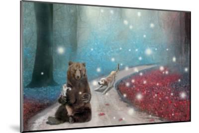 Fireflies In Heaven-Nancy Tillman-Mounted Premium Giclee Print