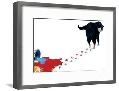 Oops-Nancy Tillman-Framed Art Print