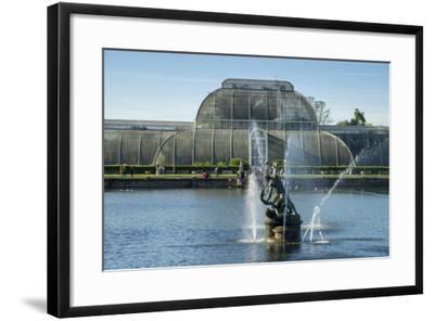 Kew Palm House-Charles Bowman-Framed Photographic Print