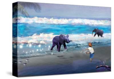 Elephant Joy-Nancy Tillman-Stretched Canvas Print
