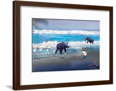 Elephant Joy-Nancy Tillman-Framed Art Print