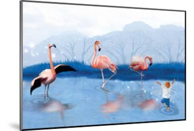 Flamingo Lesson-Nancy Tillman-Mounted Art Print