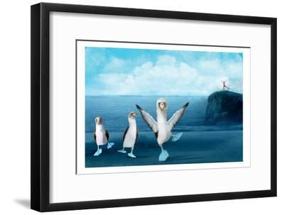 If You Were A Blue Footed Booby-Nancy Tillman-Framed Premium Giclee Print