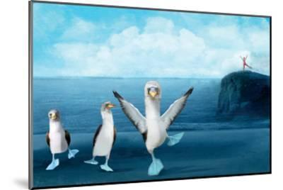 If You Were A Blue Footed Booby-Nancy Tillman-Mounted Premium Giclee Print