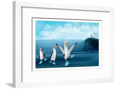 If You Were A Blue Footed Booby-Nancy Tillman-Framed Art Print
