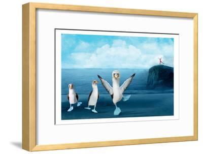 If You Were A Blue Footed Booby-Nancy Tillman-Framed Art Print