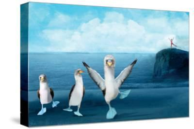 If You Were A Blue Footed Booby-Nancy Tillman-Stretched Canvas Print