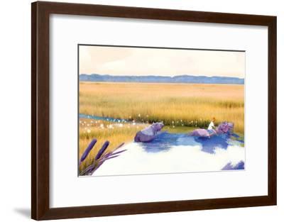 Hippo Friends-Nancy Tillman-Framed Art Print
