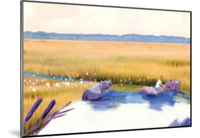 Hippo Friends-Nancy Tillman-Mounted Art Print