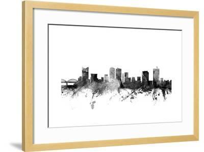 Fort Worth Texas Skyline-Michael Tompsett-Framed Art Print