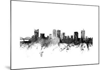 Fort Worth Texas Skyline-Michael Tompsett-Mounted Art Print