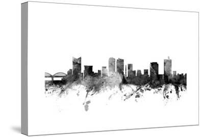 Fort Worth Texas Skyline-Michael Tompsett-Stretched Canvas Print