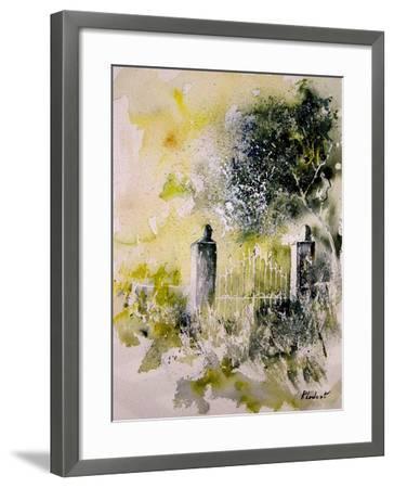 Watercolor 110304-Pol Ledent-Framed Art Print