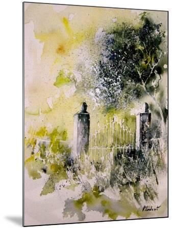 Watercolor 110304-Pol Ledent-Mounted Art Print