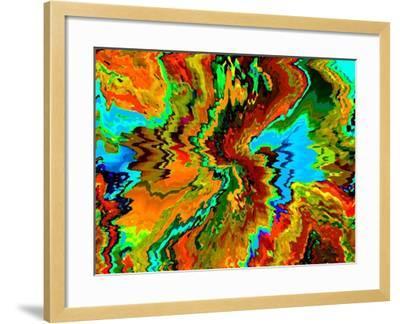 Intoxicating Color-Ruth Palmer-Framed Art Print