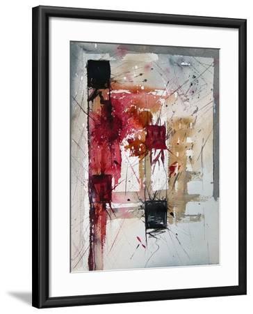 Watercolor 171205-Pol Ledent-Framed Art Print