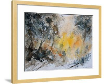 Watercolor 131206-Pol Ledent-Framed Art Print