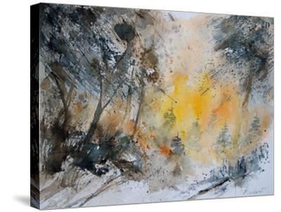 Watercolor 131206-Pol Ledent-Stretched Canvas Print