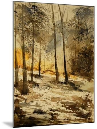 Watercolor 191106-Pol Ledent-Mounted Art Print