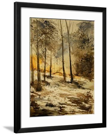 Watercolor 191106-Pol Ledent-Framed Art Print