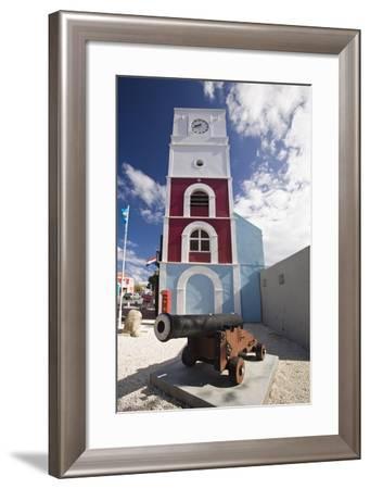 Willem III Tower Oranjestad Aruba-George Oze-Framed Photographic Print