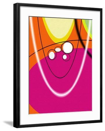 5 of 6 Abstract Art Retro Funk-Ricki Mountain-Framed Art Print