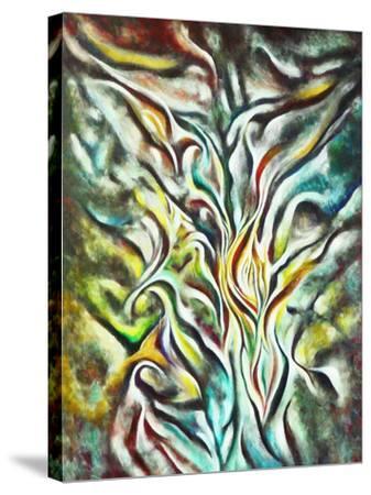 Prayer-Hyunah Kim-Stretched Canvas Print