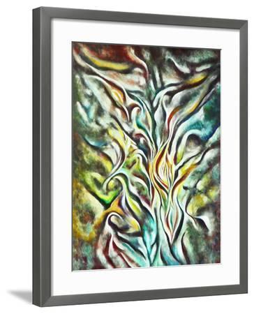 Prayer-Hyunah Kim-Framed Art Print