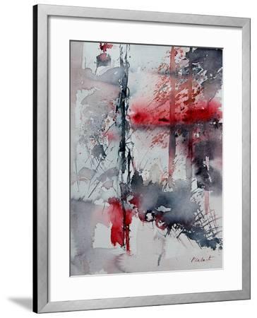 Watercolor 211006-Pol Ledent-Framed Art Print