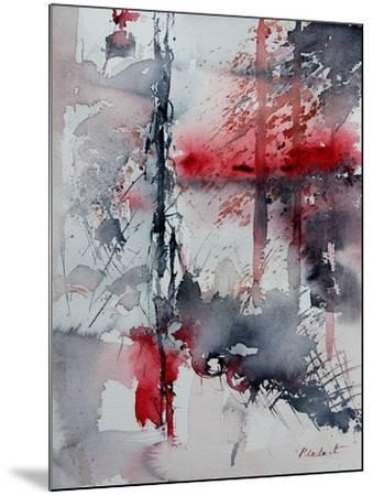 Watercolor 211006-Pol Ledent-Mounted Art Print